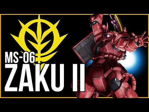 How Space Warfare Was Changed Forever   MS-06 Zaku II (Mobile Suit Gundam Lore)