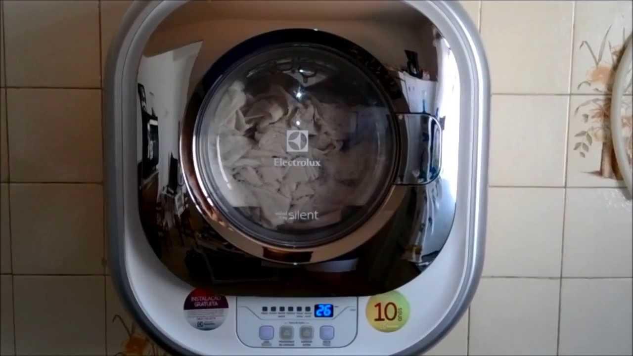 Lavadora Electrolux Mini Silent 3 Kg Lfe03 Lavando