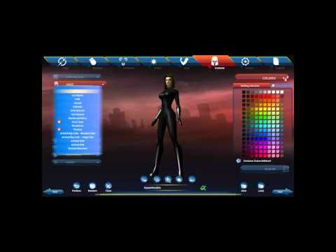 City of Heroes: Character Generator Overview