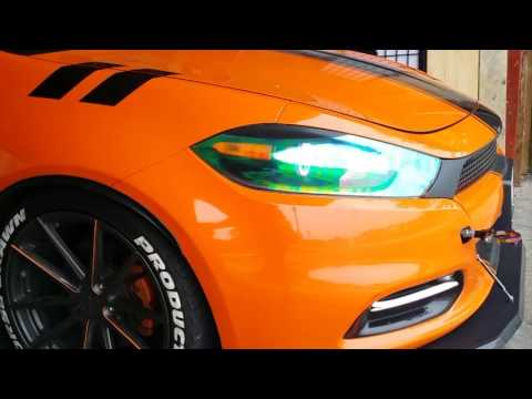 Dodge Dart 1.4L Turbo Exhaust Cutout, Dartlene Orangina