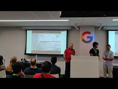 Videos from the winners trip Google Code-in 2018, Liquid Galaxy presentation and interview to Marçal Comajoan winner project RTEMS (catalan)