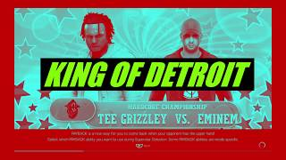 TEE GRIZZLEY FIGHTS EMINEM