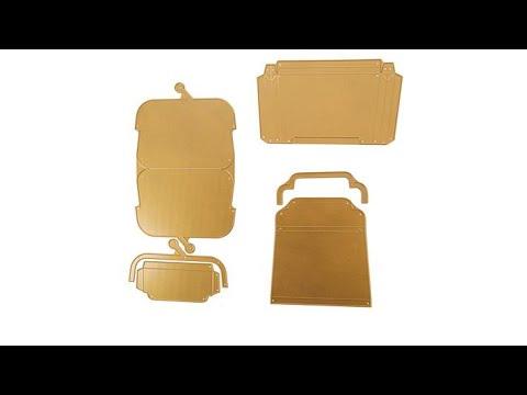 Anna Griffin Handbag Coin Purse Gift Card Dies Youtube