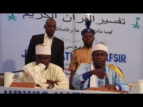 JIBWIS NATIONAL TAFSIR  DAY 3 LIVE VIDEO  (Founded By Ashsheikh Ismail Idris bn Zakariyyah jos)   @J