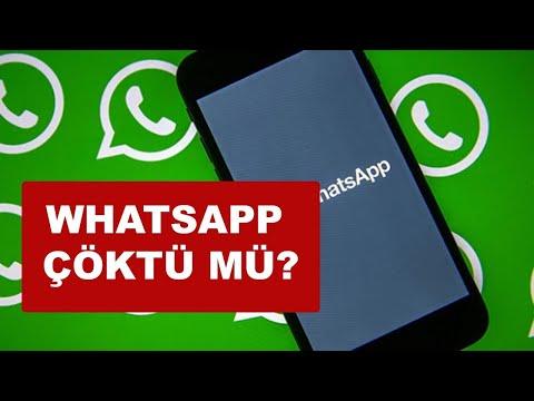 WhatsApp Çöktü mü ? WhatsApp Web açılmıyor ?