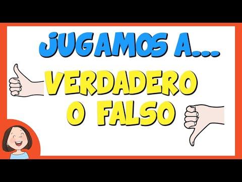 Jugamos a Verdadero o Falso | Juego educativo para niños