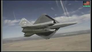 YF 23 Black Widow II - Demonstration