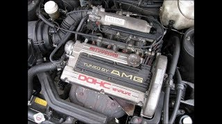 Обзор Mitsubishi Galant 6 тюнинг от компании AMG слышали о таком?