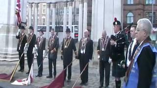 ABOD Remembrance Day Belfast City Hall  2011