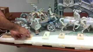 Lladro Cinderellas Arrival Figurine 01001785 UnPacking