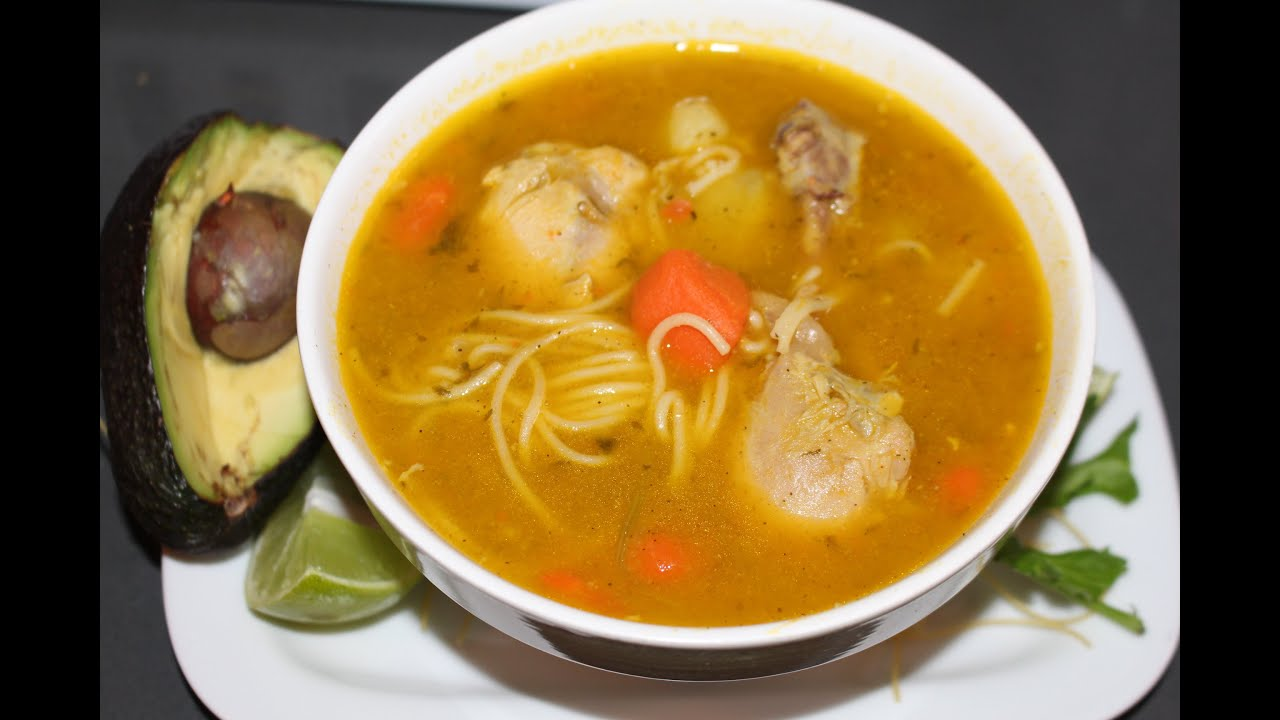 Chicken noodle soup dominican style youtube chicken noodle soup dominican style forumfinder Choice Image