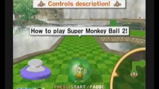 Super Monkey Ball 2 Sega Amusement Vision Nintendo Gamecube PAL Version