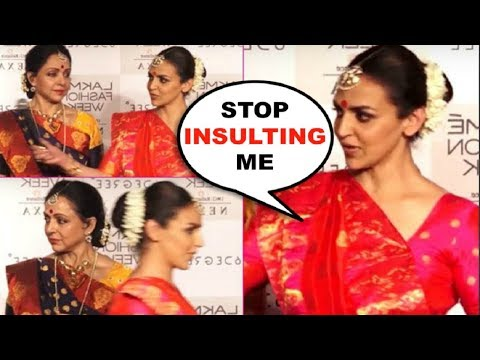 Esha Deol WALKS Off Angrily After Being Insulted By Anchor Of Her FAILED Career