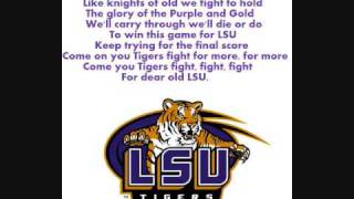 "LSU Fight Song (""Fight For LSU"")"