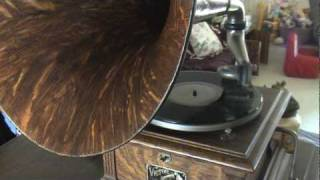 """""""THEY START THE VICTROLA"""" 1914 BILLY MURRAY Victor 78rpm Record Played On Victor III Phonograph"""