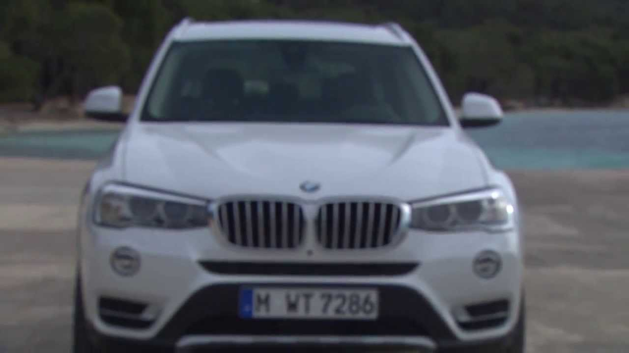 Bmw x3 modell f25 facelift 2014