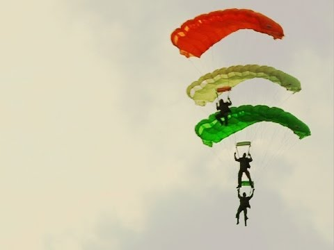Akasha Ganga paratroopers of Indian Air Force