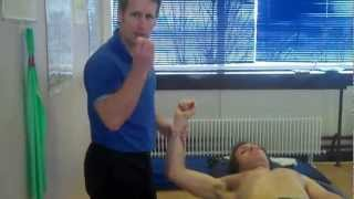 Myofascial release of the Pecs and Subscapularis