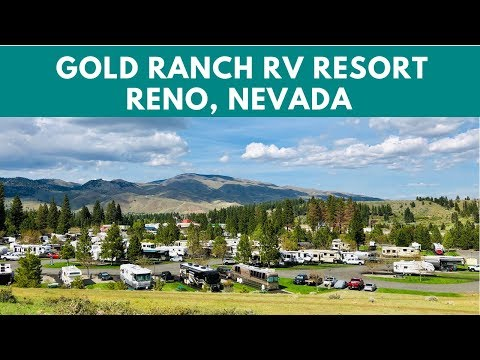 Gold Ranch RV Resort near Reno, Nevada