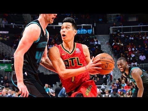 Jeremy Lin Full Highlights - Hawks vs Hornets 11/25/2018
