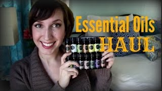 Essential Oils Haul || Eden