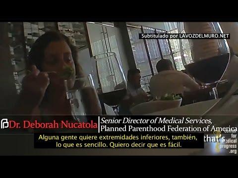 1ER VIDEO EN ESPAÑOL - Planned Parenthood vende partes de bebés descuartizados