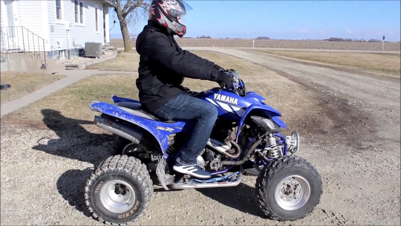 2001 yamaha raptor 660r full throttle reviews youtube for Yamaha 660r raptor
