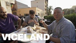 Eating Tuna Sperm (HUANG'S WORLD Deleted Scene)