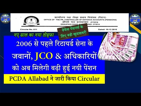 Pre-2006 Defence Pensioners: Revised pension for JCO, ORs & Officers | pension hike for Armed forces