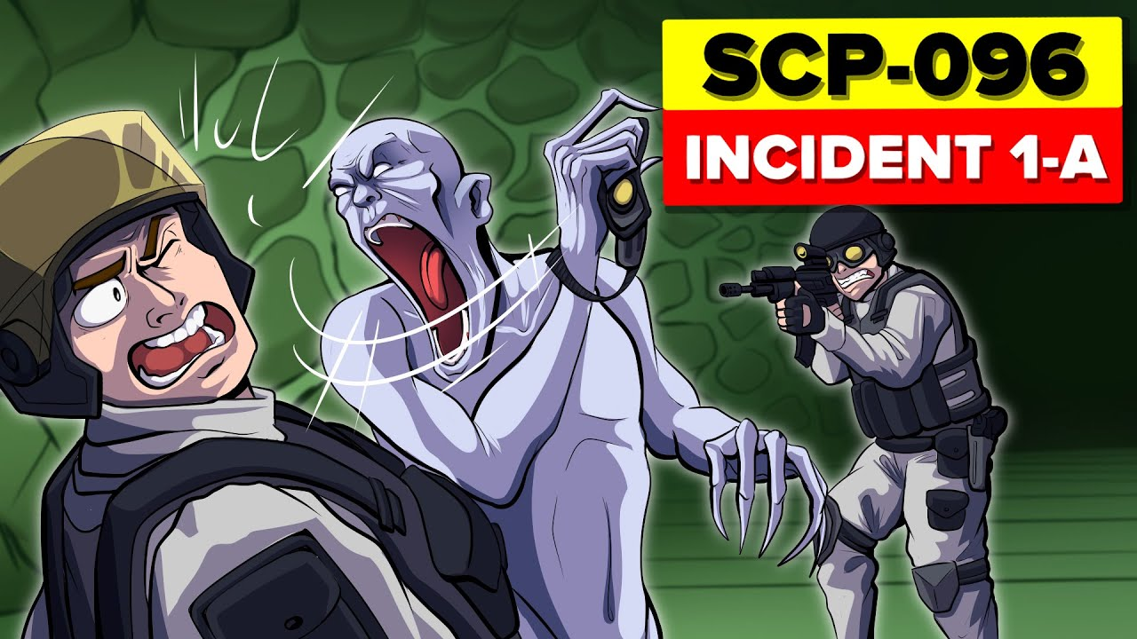 SCP-096 Shy Guy ESCAPE - Incident 096-1-A Containment Breach (SCP Animation)