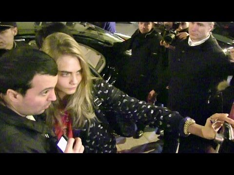 Cara Delevingne, Kate Moss And More At The Eleven Paris Party In Paris