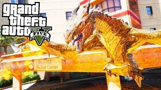 Als DRACHE in GTA! 😮 - GTA 5 Drachen Mod - Deutsch - Dragons