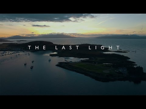 The Last Light - Oban, Scotland by Day & Night.