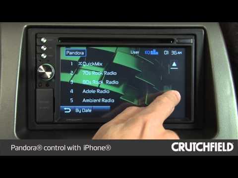 Jensen VM9726BT Car Stereo Display And Controls Demo | Crutchfield Video