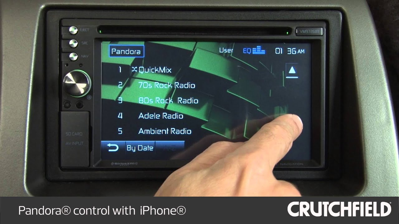 Jensen Vm9726bt Car Stereo Display And Controls Demo