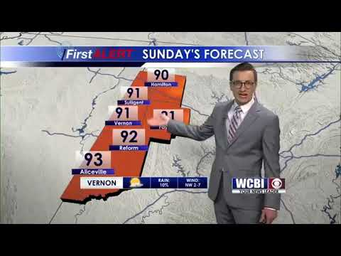 Meteorologist Jacob Dickey - Saturday Night Weather