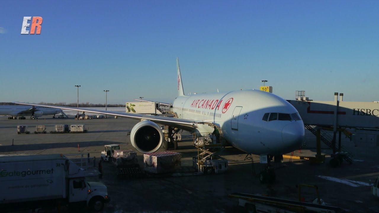 Air Canada International Business Class Review Boeing 777
