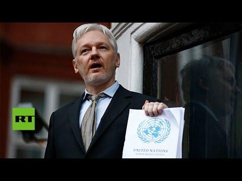 EE.UU. prepara una serie de acusaciones para detener a Julian Assange
