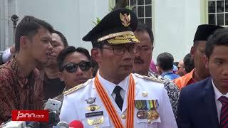 Resmi Jabat Sebagai Gubernur Jabar, Ridwan Kamil Siap jadi Timses Jokowi-Ma'ruf