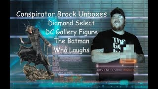 Diamond Select DC Gallery Figure The Batman Who Laughs Unboxing