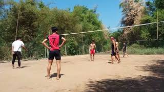 Bóng chuyền độ- Team- Phú Quý- Vs-Team-Nhân- Cầu Kè