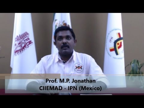"""Marine Sediment Geochemistry"" by Dr. M.P. Jonathan #InvestigadorCIIEMAD"