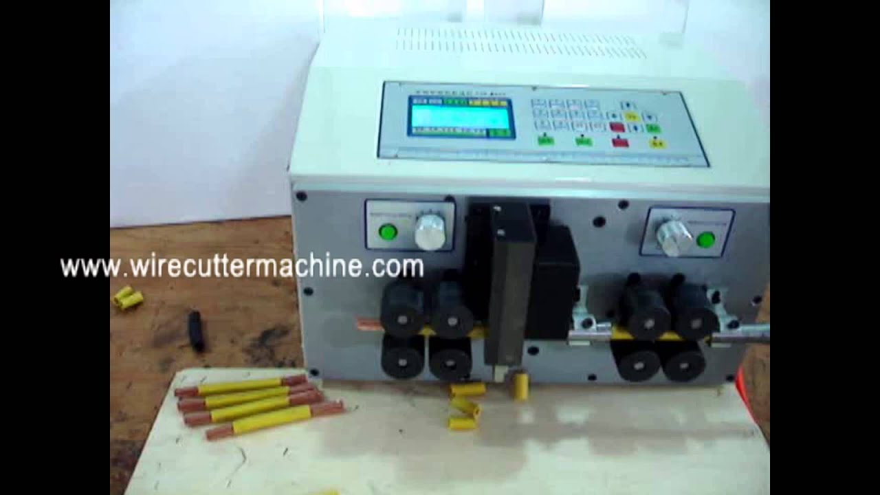 maxresdefault used wire cutting and stripping machine what is wire striper wire wire harness machine at bayanpartner.co
