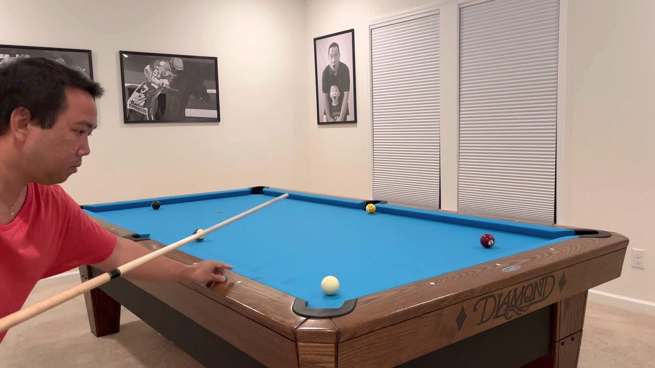 Diamond 9' Pro-Am Pool Table – #RO97