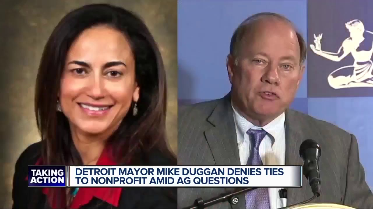 Michigan AG asking questions about Detroit mayor, nonprofit and woman linked to mayor
