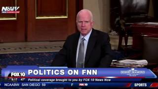 FNN: GOP Sen. John McCain Pays Tribute to His Longtime Friend Joe Biden on Senate Floor