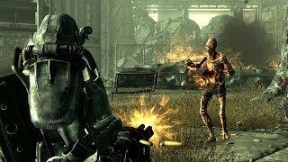 Jogando Fallout 3 a noite toda e falando bosta