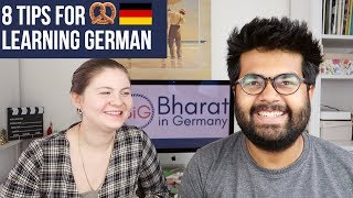 8 Tips to START Learning German 🇩🇪 RIGHT NOW!
