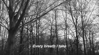 HAPPY DAYS — Dying Alone Done (lyric video)