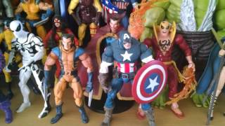 Marvel Legends Toy Collection pt.2 (2015) Avengers Big and Small (Largest loose display of toys?)